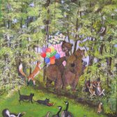 Forest Animals (Coming to See the New Baby!)